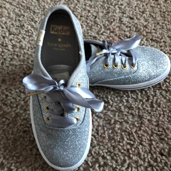 6aabbb3449f3 Keds Other - Kids Keds x Kate Spade Glitter Shoes